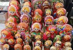 Las muñecas rusas imagen de archivo libre de regalías