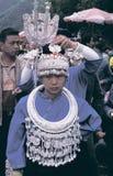 Hmong en el sudoeste China Fotos de archivo