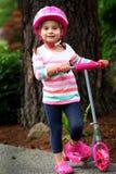Las muchachas les gusta rosa Fotografía de archivo libre de regalías
