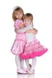 Las muchachas pueden ser amigos foto de archivo