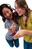 Las muchachas se divierten Imágenes de archivo libres de regalías