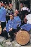 Hmong en el sudoeste China Foto de archivo