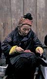 Hmong en el sudoeste China Fotografía de archivo