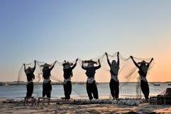 Las mujeres de Hui Fotos de archivo libres de regalías