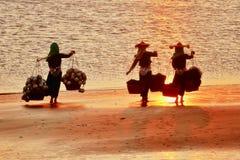 Las mujeres de Hui Imágenes de archivo libres de regalías