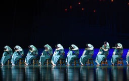 """Las mujeres de Huian - baile el sueño del """"The del drama del  de seda marítimo de Road†Fotos de archivo"""