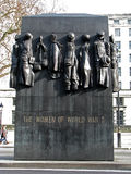 Las mujeres de la Segunda Guerra Mundial - monumento Foto de archivo libre de regalías