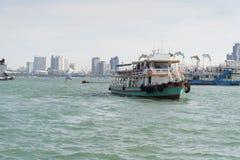 Las naves en el mar Fotografía de archivo libre de regalías