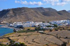 Las negras, a small traditional coastal town in Andalusia. In the Cabo de Gata natural park, Spain Stock Image