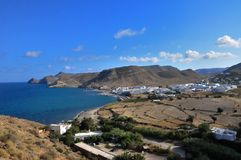 Las negras, a small traditional coastal town in Andalusia Stock Image