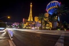 las noc ulica Vegas Obrazy Royalty Free