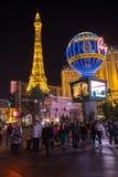 las noc ulica Vegas Fotografia Stock