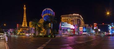 las noc ulica Vegas Obraz Stock