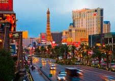 las noc Vegas Zdjęcia Stock