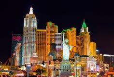 las noc Vegas Fotografia Royalty Free