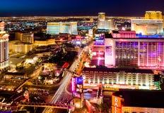 las noc Vegas obraz stock