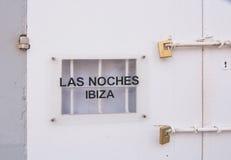 Las Noches伊维萨岛 库存照片