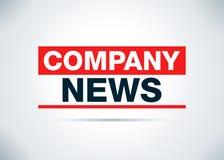 Las noticias de la compañía resumen el ejemplo plano del diseño del fondo ilustración del vector