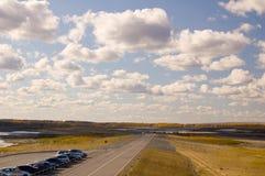 Las nubes Foto de archivo