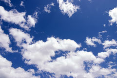 Las nubes Foto de archivo libre de regalías