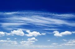 Las nubes. Imágenes de archivo libres de regalías