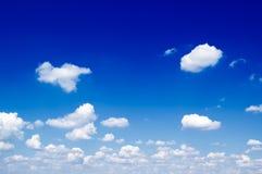 Las nubes. Fotos de archivo libres de regalías