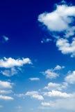 Las nubes. Foto de archivo libre de regalías
