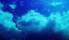 Las nubes brillan plantilla texturizada del fondo, diseño de la plantilla de los gráficos imagenes de archivo