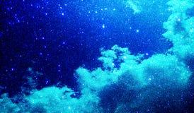 Las nubes brillan plantilla texturizada del fondo, diseño de la plantilla de los gráficos foto de archivo