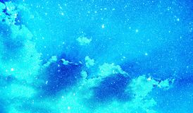 Las nubes brillan plantilla texturizada del fondo, diseño de la plantilla de los gráficos imagen de archivo