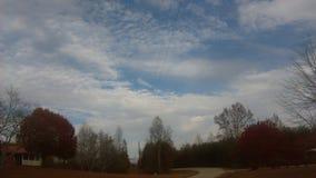 Las nubes 2 de Nomember Imagen de archivo libre de regalías