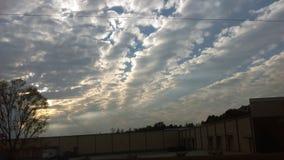 Las nubes 5 de noviembre Imagen de archivo libre de regalías