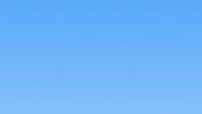 ¡Las nubes, desabrochan y cielo azul! almacen de metraje de vídeo