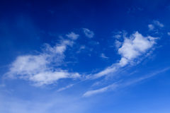 Las nubes - vea del vuelo 42 Imágenes de archivo libres de regalías