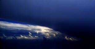 Las nubes - vea del vuelo 48 Fotos de archivo libres de regalías