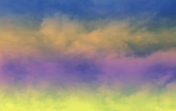 Las nubes y los cielos Imagenes de archivo