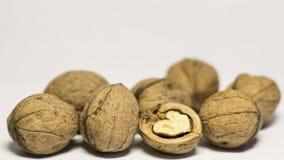 Las nueces son buenas para su salud Fotografía de archivo