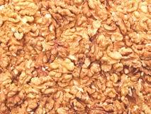 Las nueces son la textura. Fotografía de archivo libre de regalías