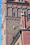 Las nuevas cortes de ley de Justizpalast, Munich, Baviera, Alemania imagenes de archivo