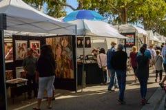 Las ola arte festival marzo 2018 Ft del centro Lauderdale5 immagini stock libere da diritti
