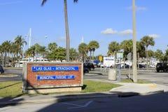 Las-Olas-Parkplatz Lizenzfreies Stockbild