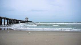 Las ondas del mar almacen de video