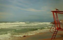 Las ondas del mar fotografía de archivo