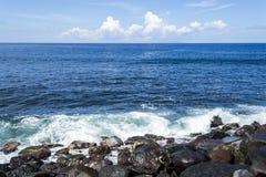 Las ondas del mar Imagen de archivo