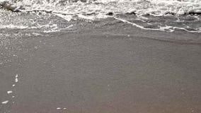Las ondas del Mar Negro almacen de metraje de vídeo