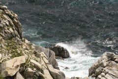 Las ondas y el viento imagen de archivo libre de regalías
