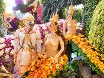 Las orquídeas 2014 de Bangkok del modelo Fotos de archivo