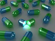 Las píldoras Imagen de archivo libre de regalías