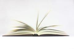 Las paginaciones del libro se abren imagen de archivo libre de regalías
