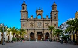 Las palma ancient building. Nice architecture in Las Palmas Stock Photo